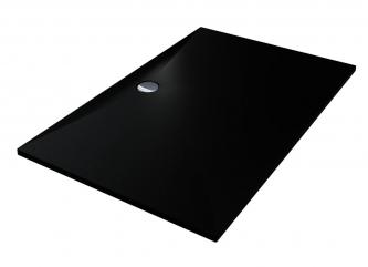 Душовий піддон BRUGGE 1400 BLACK MIRASTONEзі штучного каменю