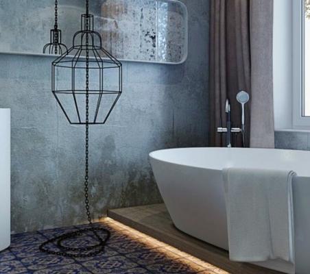 Ванна в стилі лофт