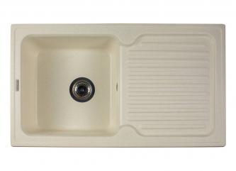 Кухонна мийка ORLEAN жасминзі штучного каменю