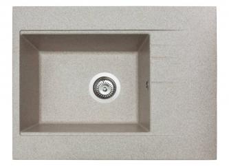 Кухонна мийка BODRUM 650 пісочназі штучного каменю