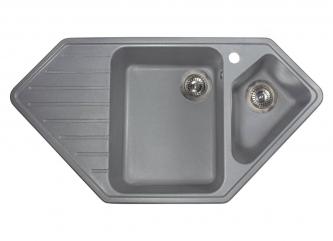 Кухонна мийка TIRION сіразі штучного каменю