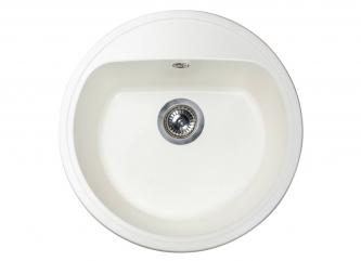 Кухонна мийка MALIBU білазі штучного каменю