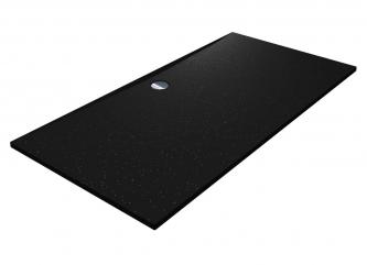 Душовий піддон BRUGGE 1800 BLACK MIRASTONEзі штучного каменю