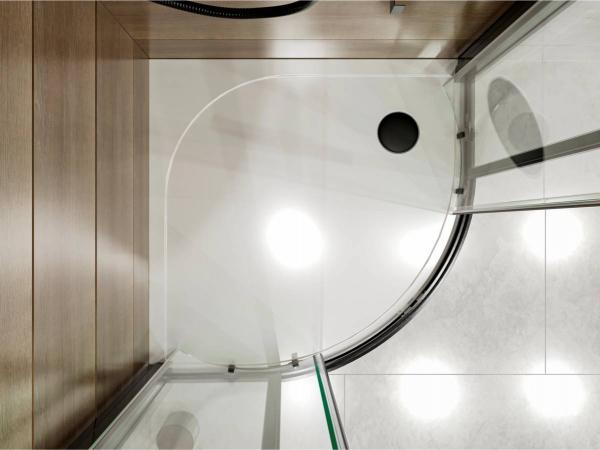 Душовий піддон MADRID 800 з литого мармуру - 2
