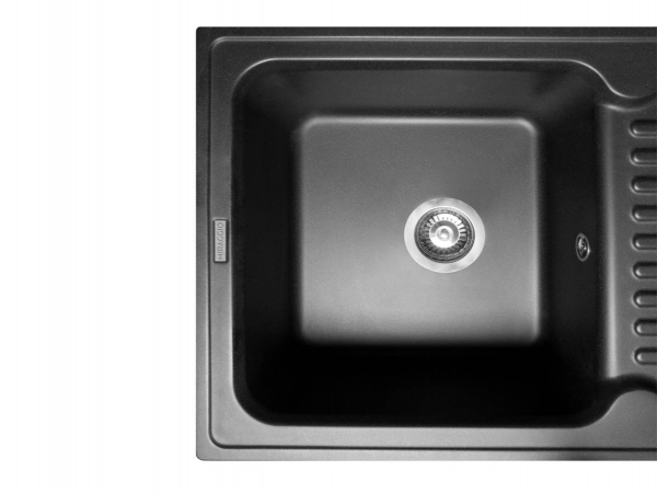 Кухонная мойка ORLEAN черная - 2