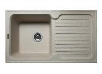 Кухонна мийка ORLEAN пісочназі штучного каменю