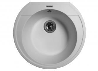 Кухонна мийка TULUZA білазі штучного каменю