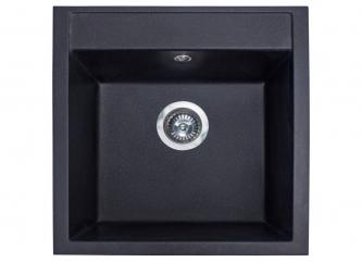 Кухонна мийка BODRUM 510 чорназі штучного каменю