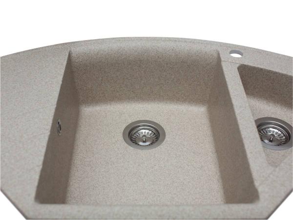 Кухонная мойка EUROPE песочная - 3