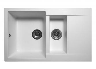 Кухонна мийка LAPAS білазі штучного каменю