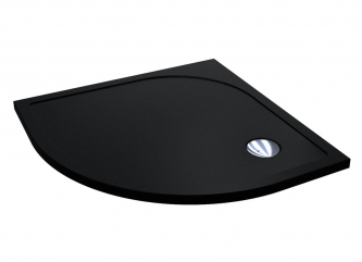 Душовий піддон MADRID 800 BLACK MIRASTONEзі штучного каменю
