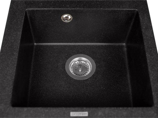 Кухонная мойка WESTEROS черная - 2