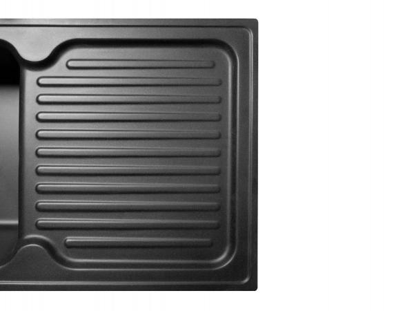 Кухонная мойка ORLEAN черная - 3
