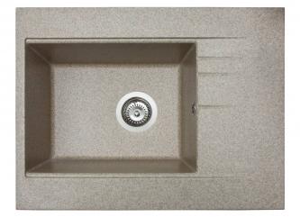 Кухонна мийка BODRUM 650 терразі штучного каменю