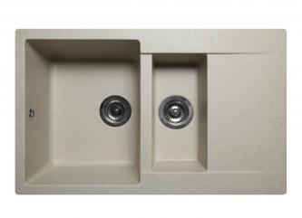 Кухонна мийка LAPAS пісочназі штучного каменю