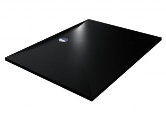 Душовий піддон BRUGGE 1200 BLACK MIRASTONEзі штучного каменю