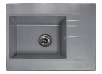 Кухонна мийка BODRUM 650 сіразі штучного каменю