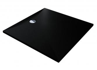 Душовий піддон BRUGGE 900 BLACK з кварцового піскузі штучного каменю