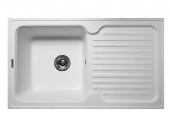 Кухонна мийка ORLEAN білазі штучного каменю