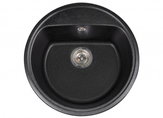 Кухонна мийка MALIBU чорназі штучного каменю