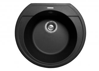 Кухонна мийка TULUZA чорназі штучного каменю